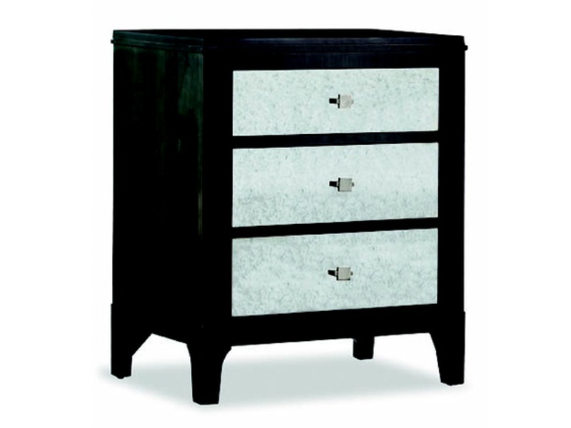 Front Street Night Stand With Mirror Drawer Fronts Ormes